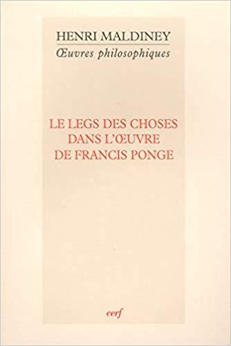 La table, Henri Maldiney