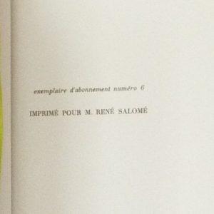 Tome 2 : destinataire du livre.