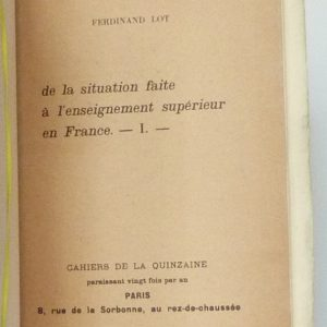 Une de couverture du tome 1.