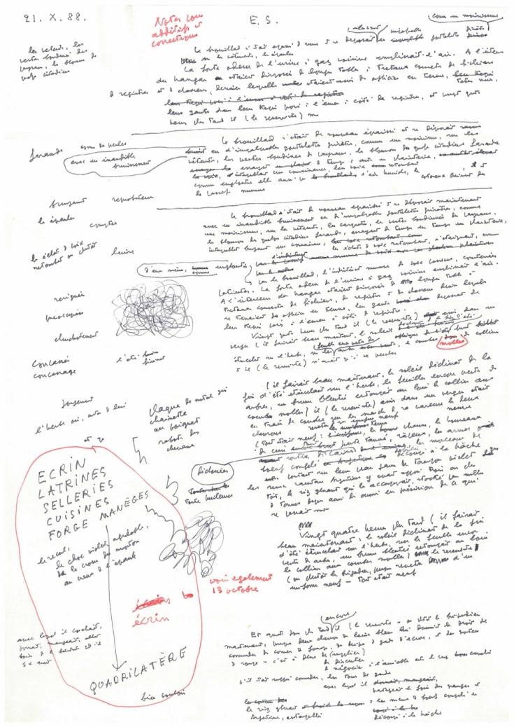 Manuscrit de l'Acacia.