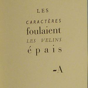 Exemple de typographie.