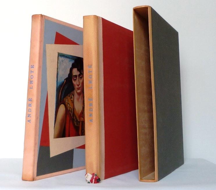 André Lhote commente 48 reproductions de ses tableaux dans ce livre, chemise et étui.