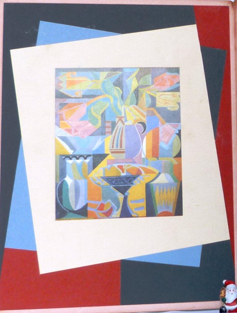 André Lhote commente 48 reproductions de ses tableaux dans ce livre, 4 de reliure.