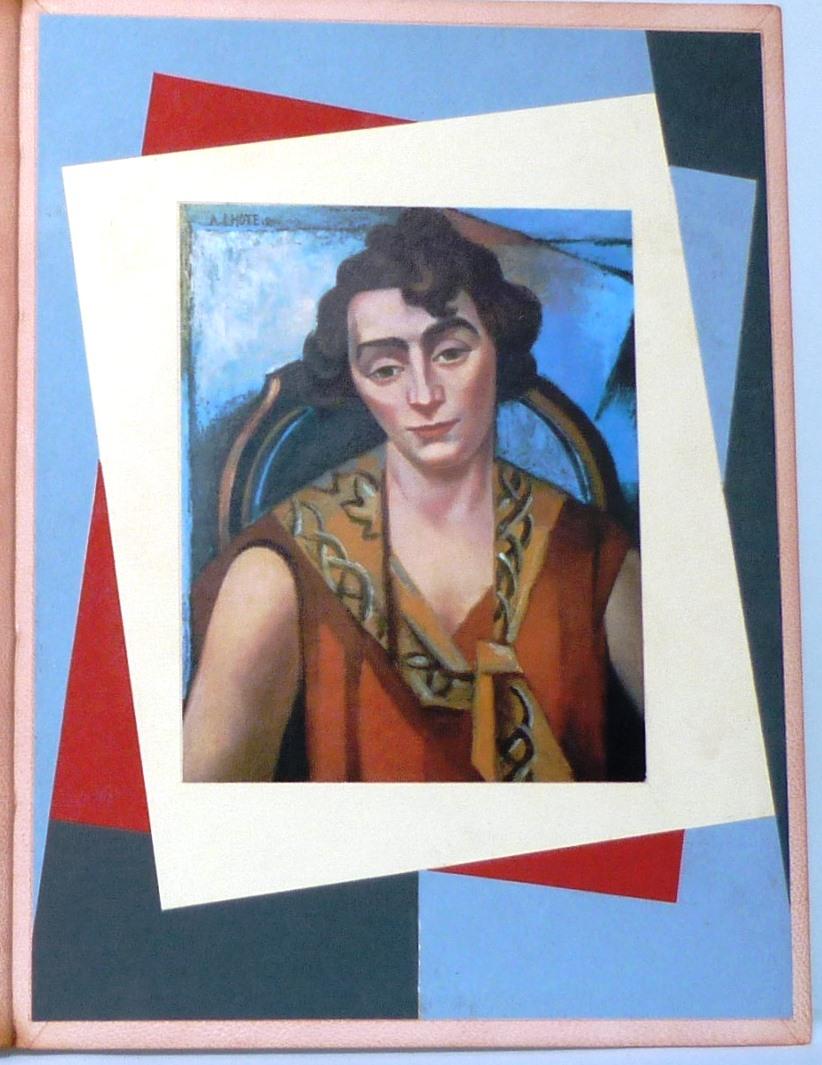 André Lhote commente 48 reproductions de ses tableaux dans ce livre, une de reliure.