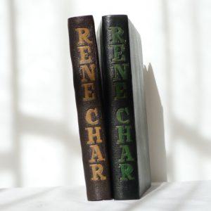 Dos du livre et de la chemise.
