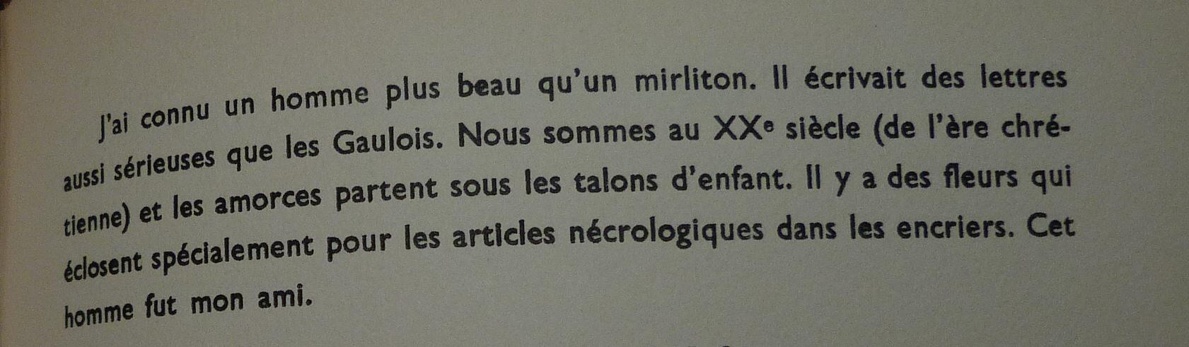 """Extrait d'une préface de A.Breton du livre """"Lettres de guerre"""""""