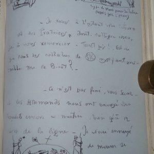 lettre-reliure-art-vache-lettre-guerre-breton-surrealiste-ardoise-demi-cuir-1
