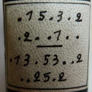 parchemin-encre-chine-codage-titre-reliure-art-maurice-leblanc-aiguille-creuse-demi-cuir-noir-jaune-parchemin-biennale-mondiale-12ième-4