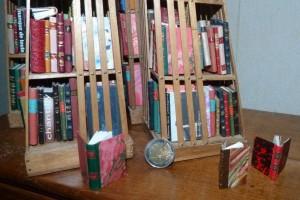 Bibliothèque_Minis-livres_bois_pyramides_9