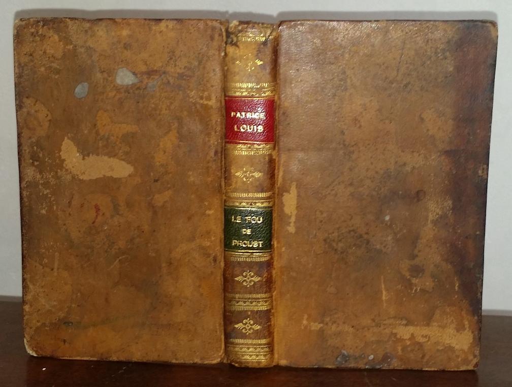 Couverture de livre ancien ré-utilisée pour relier un livre numérique