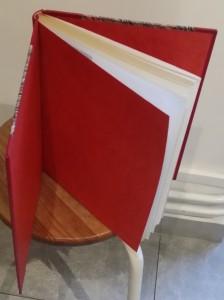 -reliure-art_pierre-debes_these-de-doctorat-de-troisieme-cycle_theorie-des-nombres_demi-cuir-a bandes-rouge_rouge_3