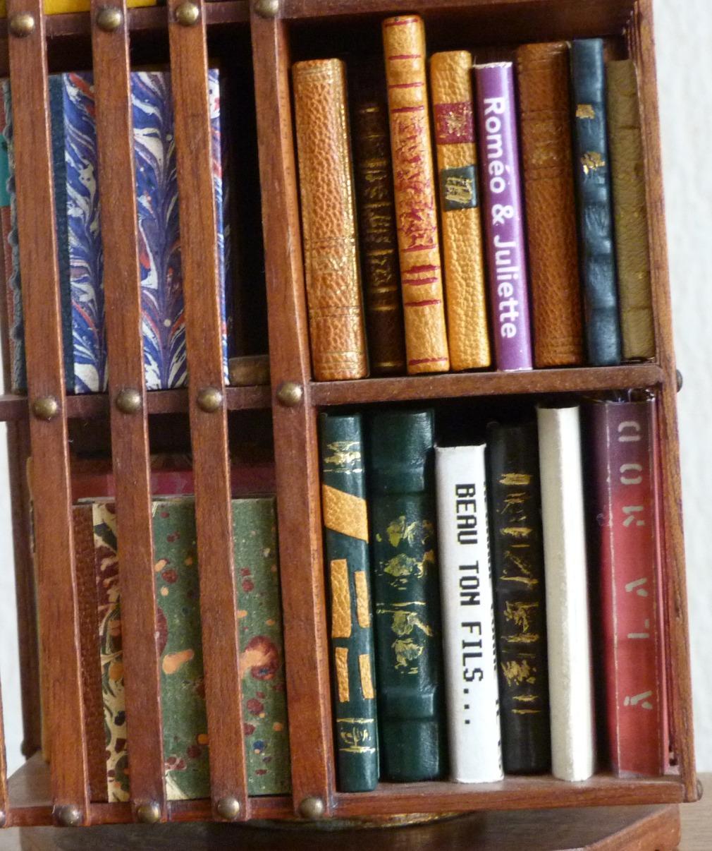 Mini-livres de mini-bibliothéque, détails