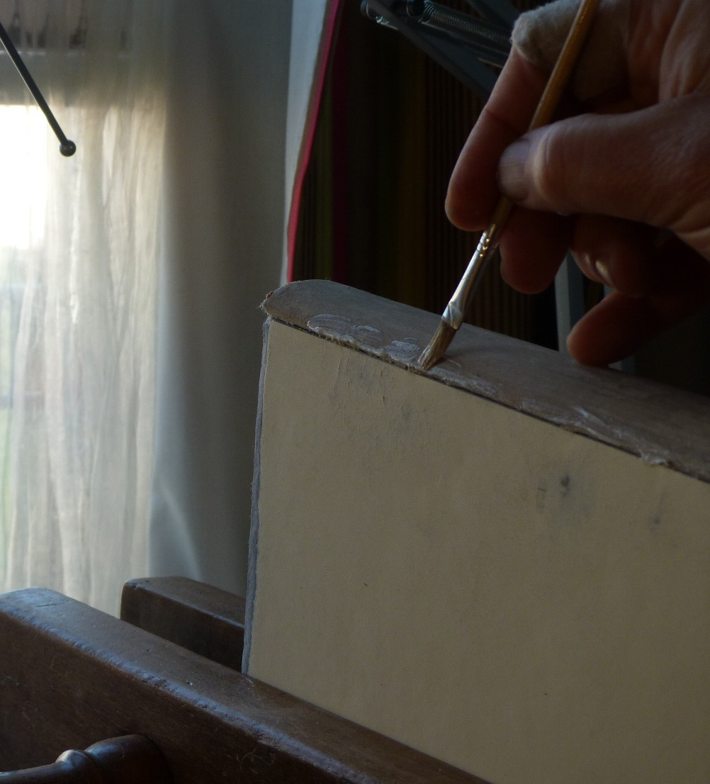 Technique de la pose du faux dos en ohotos.