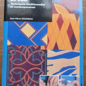 """Une de couverture du livre de Jean-Pierre Rousseau : """" La mosaïque de cuir."""