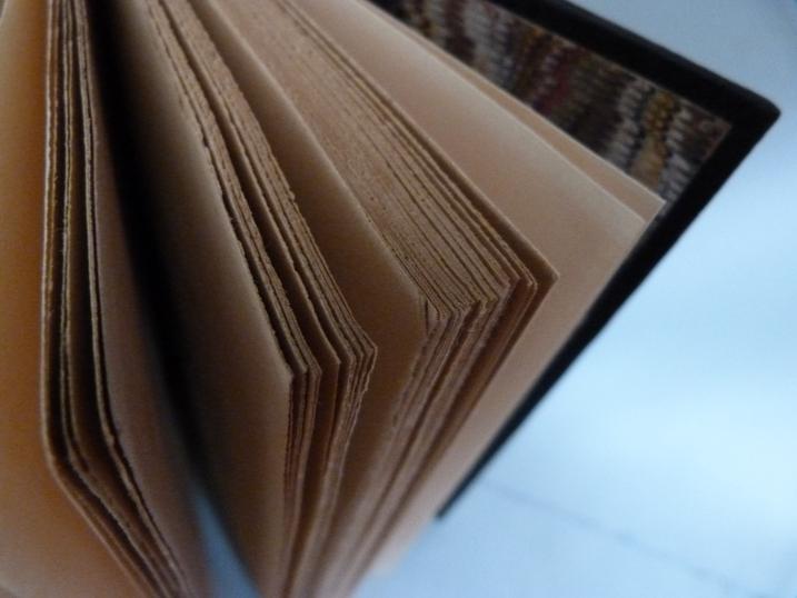 Détail du papier ordinaire d'un cahier de la quinzaine.