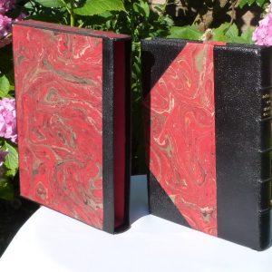 rouge-noir-reliure-art-memoire-paysan-breton-elegoet-demi-cuir-coin-9