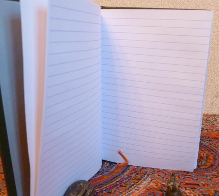 papier du carnet : offset grandes lignes