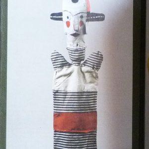 Marionnettes de Klee, partie gauche des gardes antérieures.