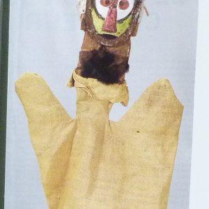 Marionnettes de Klee, partie droitedes gardes antérieures.