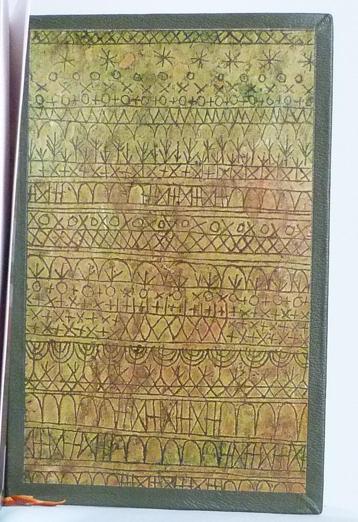Tableau de Klee, partie droite des gardes postérieures