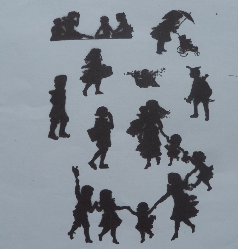 Silhouettes personnages