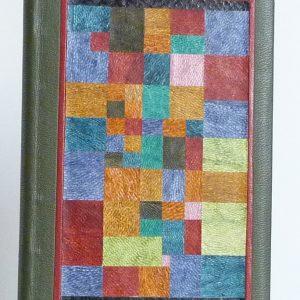 Mosaïque, bord à bord, d'un tableau de Klee.