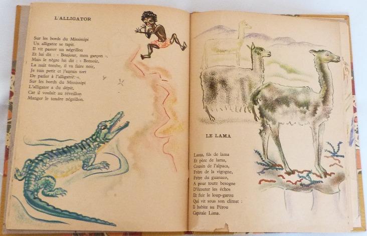 Trente chantefables de Robert Desnos : L'alligator et le lama