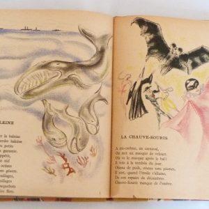 Trente chantefables de Robert Desnos : La baleine et la chauve-souris