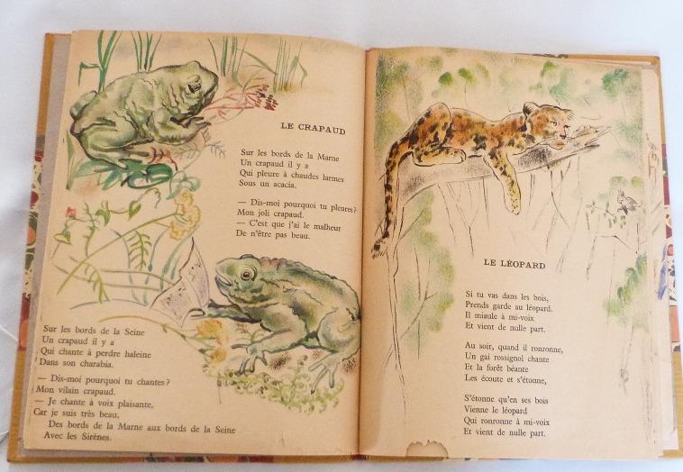 Trente chantefables de Robert Desnos : Le crapaud et le léopard