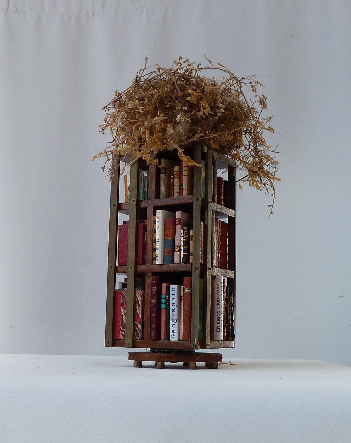 Quatrième face de la bibliothèque