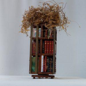 Troisième face de la bibliothèque