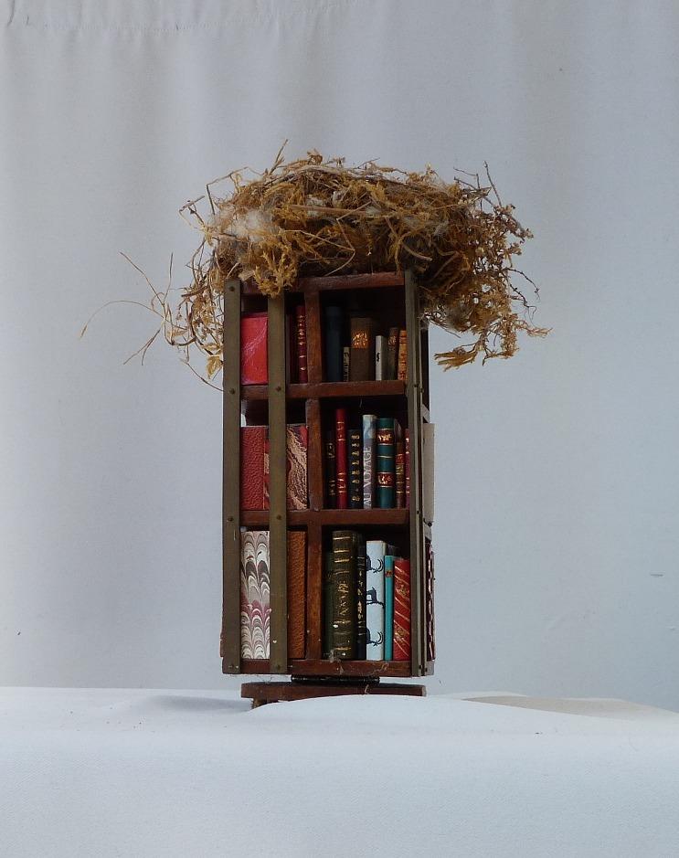 Première face de la bibliothèque
