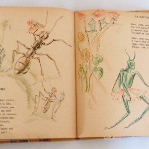 chantefables : La fourmi et La sauterelle