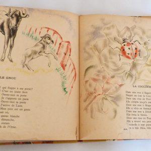 Trente chantefables de Robert Desnos : Le gnou et la coccinelle