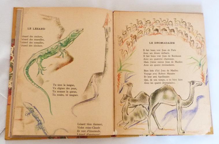 Trente chantefables de Robert Desnos : Le lézard et le dromadaire