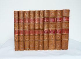 10 tomes des cahiers rouges de Maxime Vuillaume