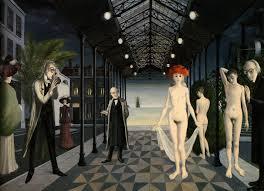 Tableau de Paul Delvaux