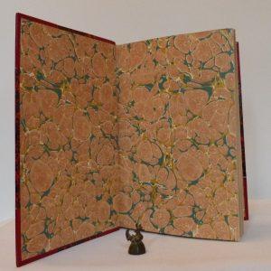 jules-verne-rayon-vert-reliure-art-roman-demi-cuir-rouge-coins