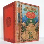Les aventures du Capitaine Hatteras au Pôle Nord, métamorphose d'un cartonnage