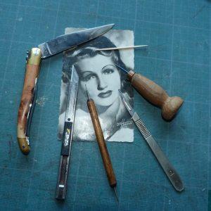 outils pour le recollage