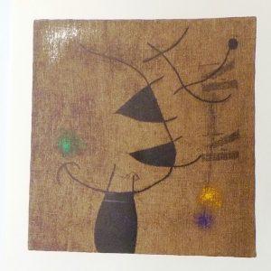 Femmes, tableau de Miro