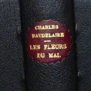 les fleurs du mal de Charles Baudelaire : pièce de titre.