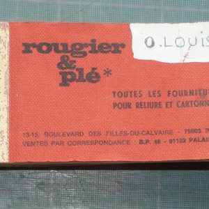Catalogue Rougier et Plé
