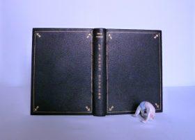 Le rouet d'ivoire : plein cuir noir.