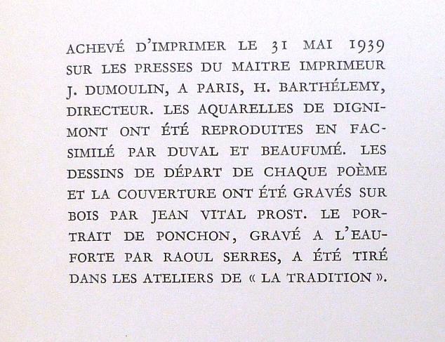 La muse gaillarde de Raoul Ponchon, achevé d'imprimer.