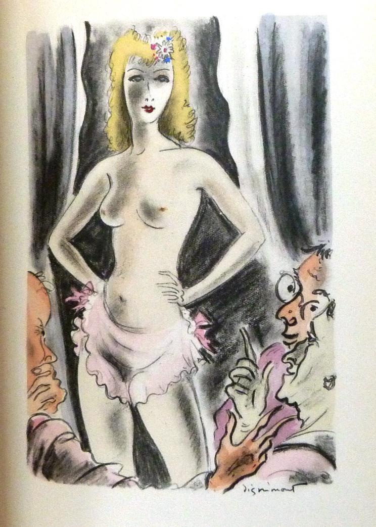 La muse gaillarde de Raoul Ponchon, illustration de Dignimont
