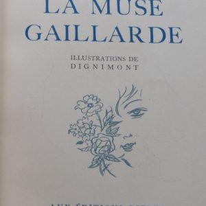 La muse gaillarde de Raoul Ponchon, page de titre