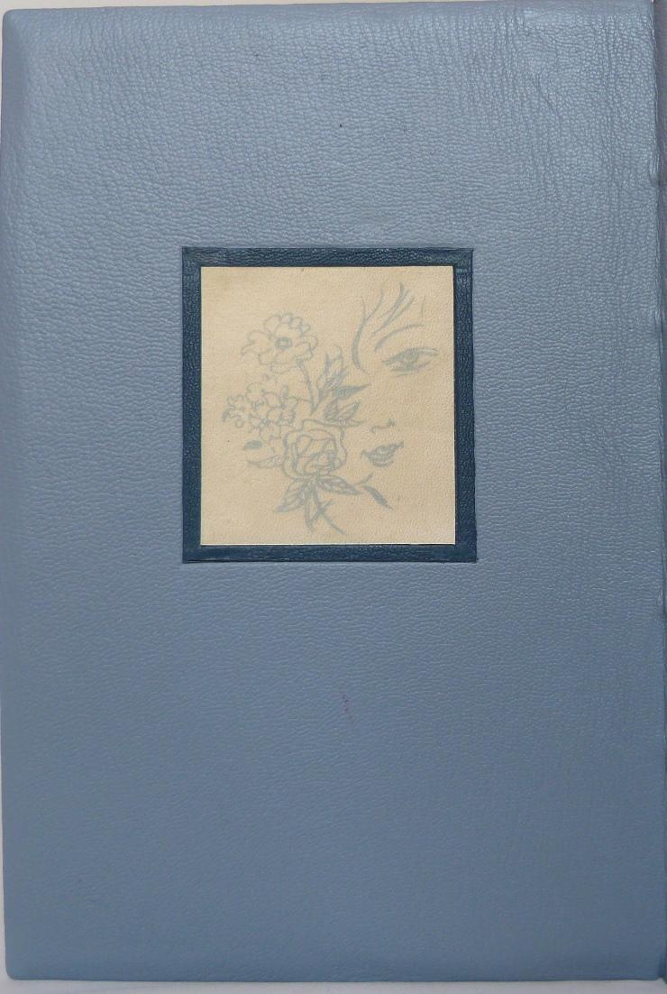 La muse gaillarde de Raoul Ponchon, décor imprimé sur parchemin