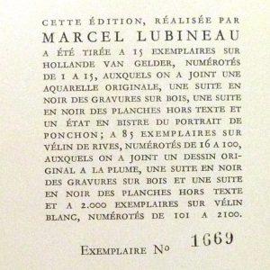 La muse gaillarde de Raoul Ponchon, tirage