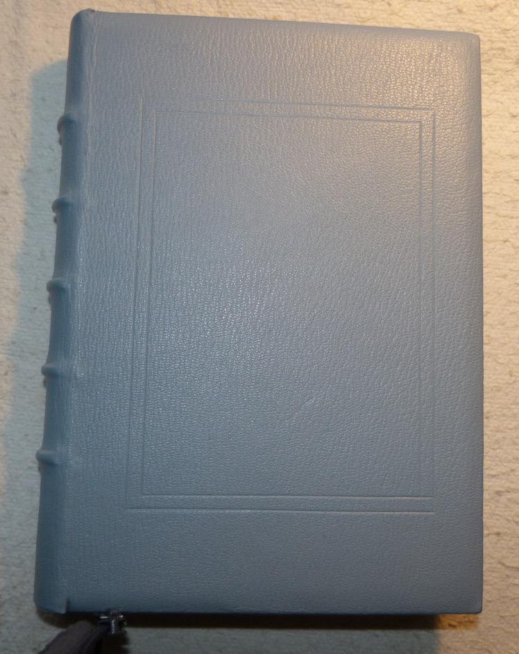 Incrustation de parchemin décoré à la photocopieuse, cadre marqué au fer